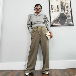 Baggy Dad's Pants, L, fits M/L